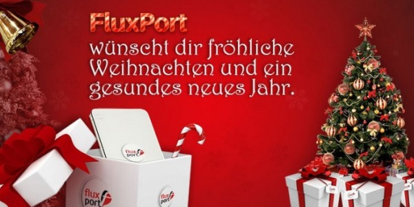 Gifts tips about smartphone - Merry Christmas wishes you FluxPort!